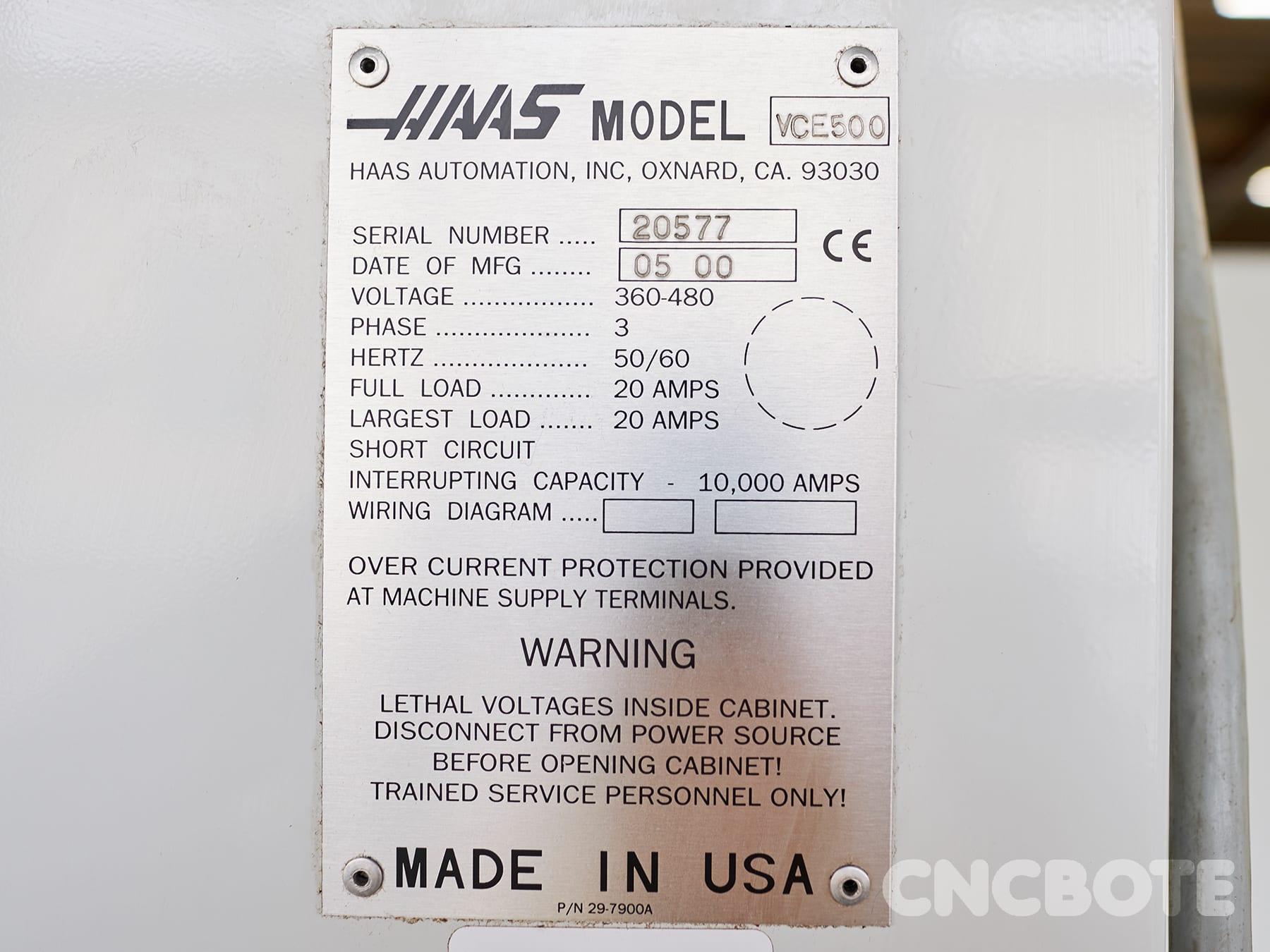 Haas VF-1 Bearbeitungszentrum geucht kaufen bei CNC BOTE ... Haas Wiring Diagram on