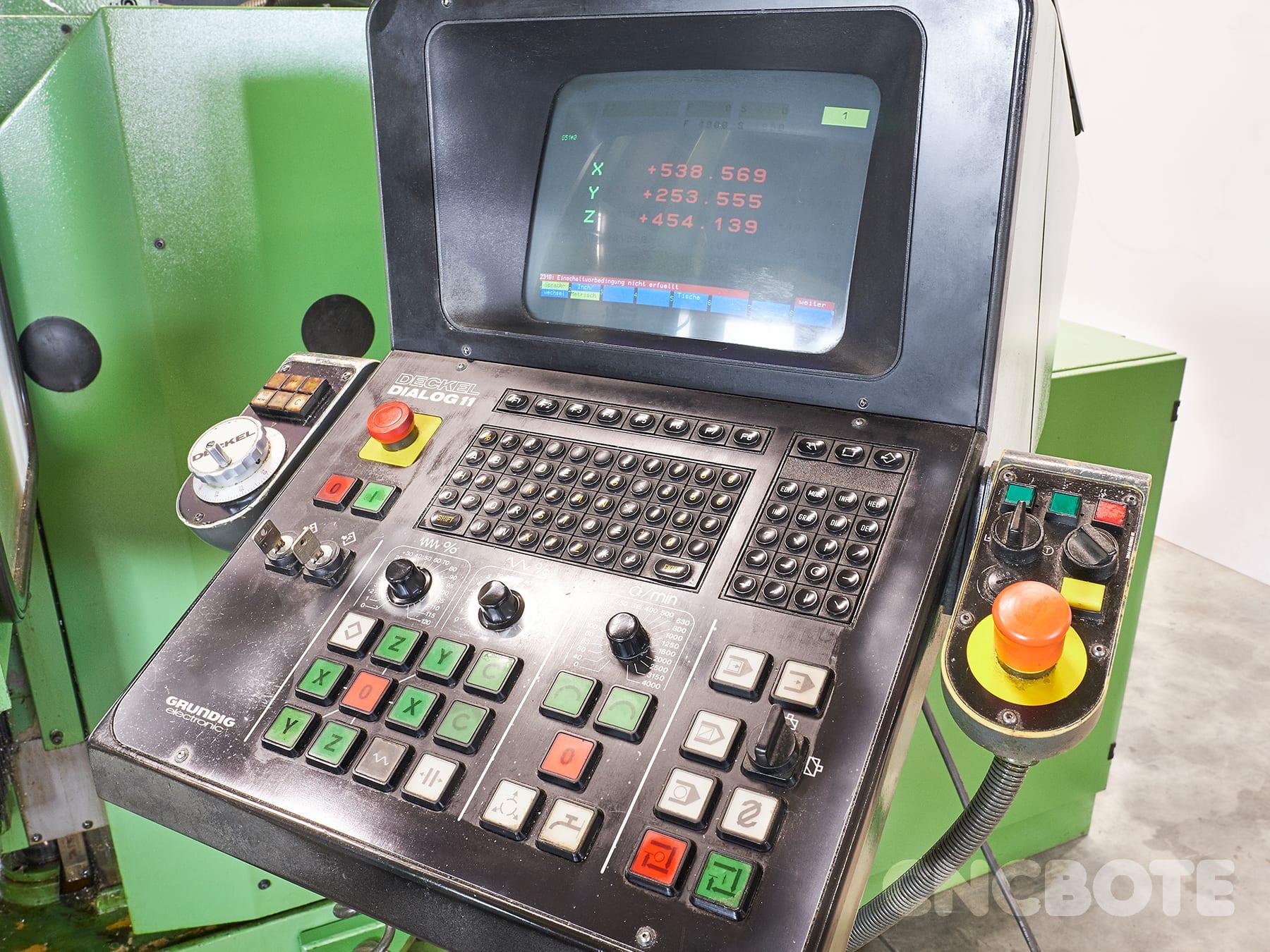 Deckel FP4 AT Fräsmaschine gebraucht kaufen bei CNC BOTE