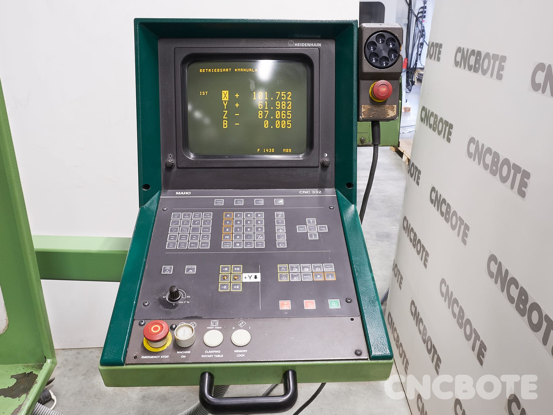 Maho MH 600 T fresadora