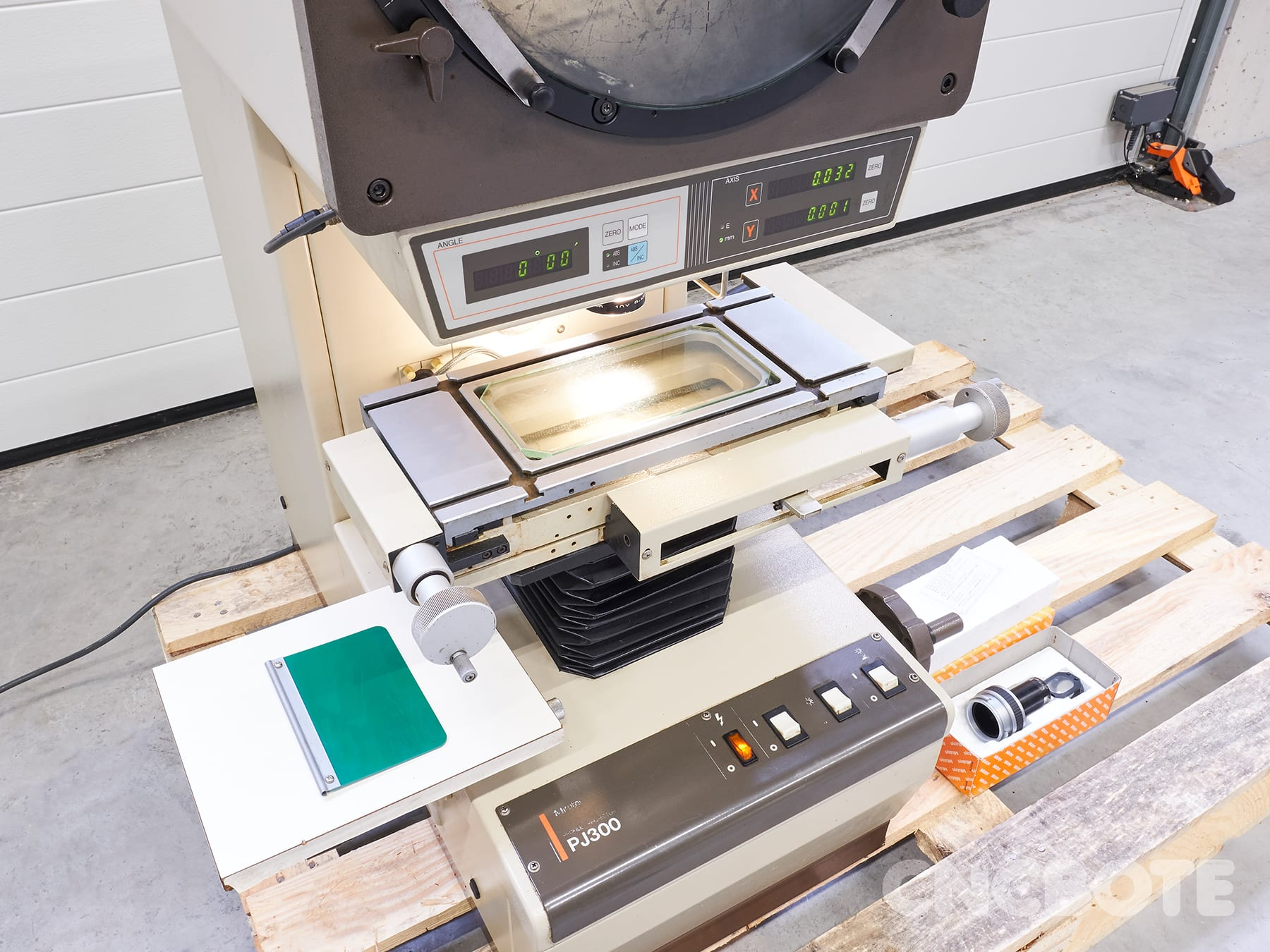Mitutoyo PJ300 Profile Projector - Buy Used From CNC BOTE