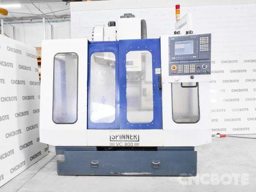 Spinner VC800 Bearbeitungszentrum