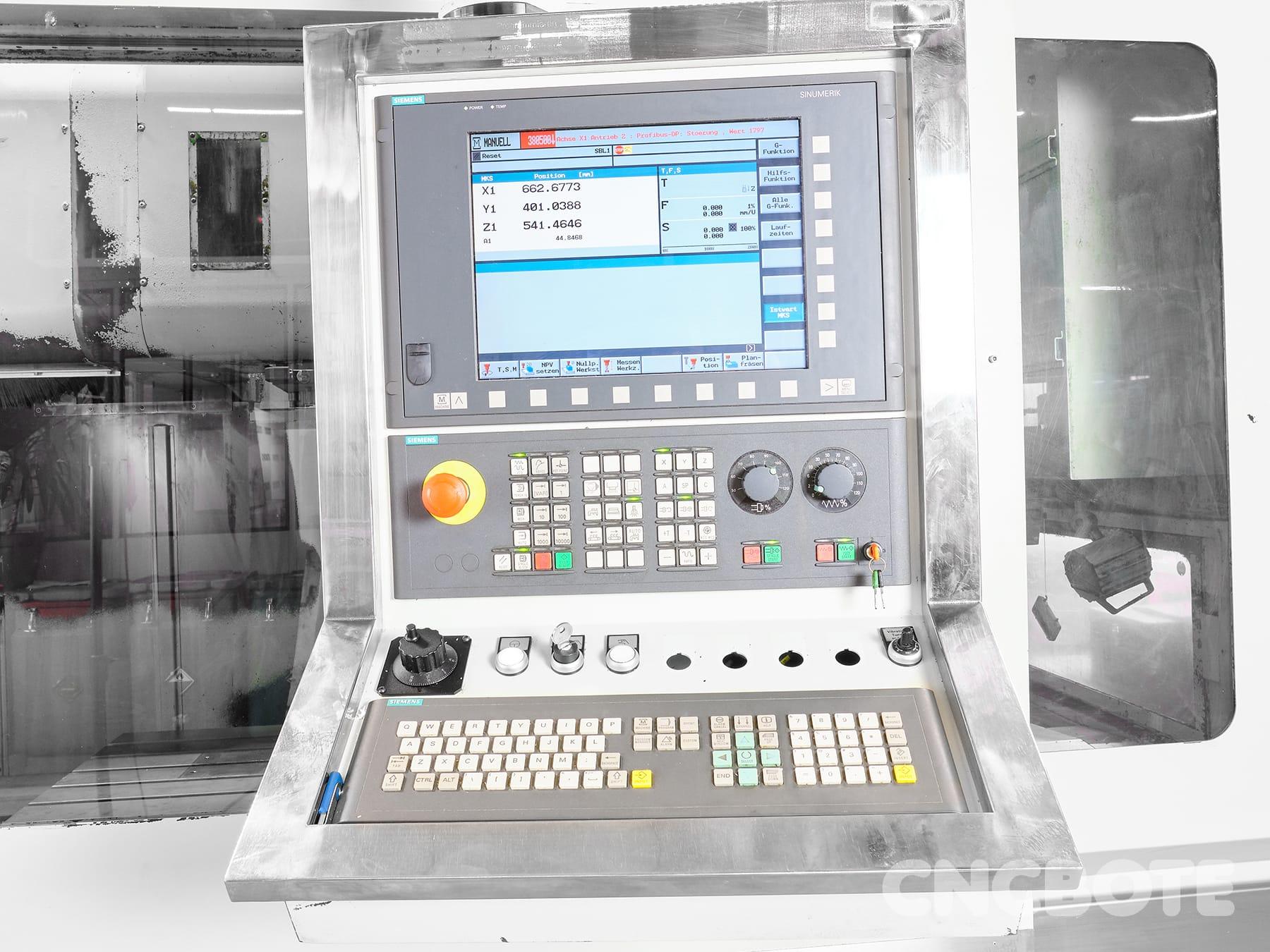 Spinner MVC 1100-A Bearbeitungszentrum