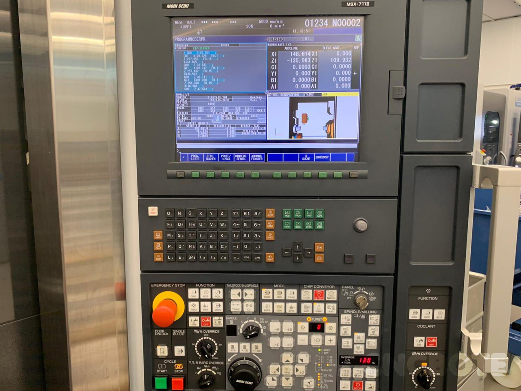 Mori Seiki NT 315/1000DCG Dreh-Fräszentrum