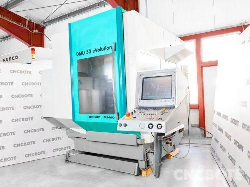 Deckel Maho DMU 50 eVolution megmunkáló központ