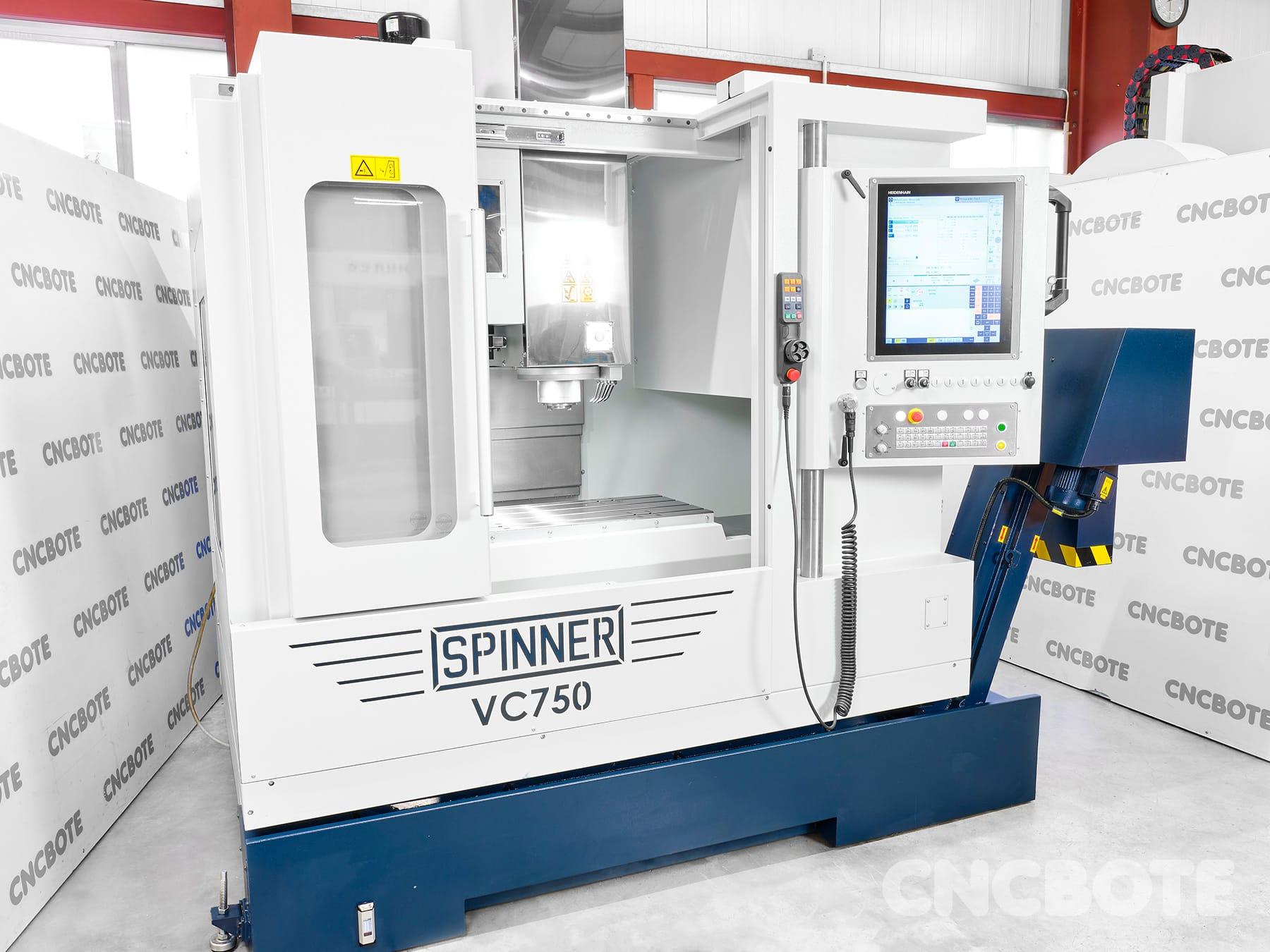 Spinner VC750 Bearbeitungszentrum