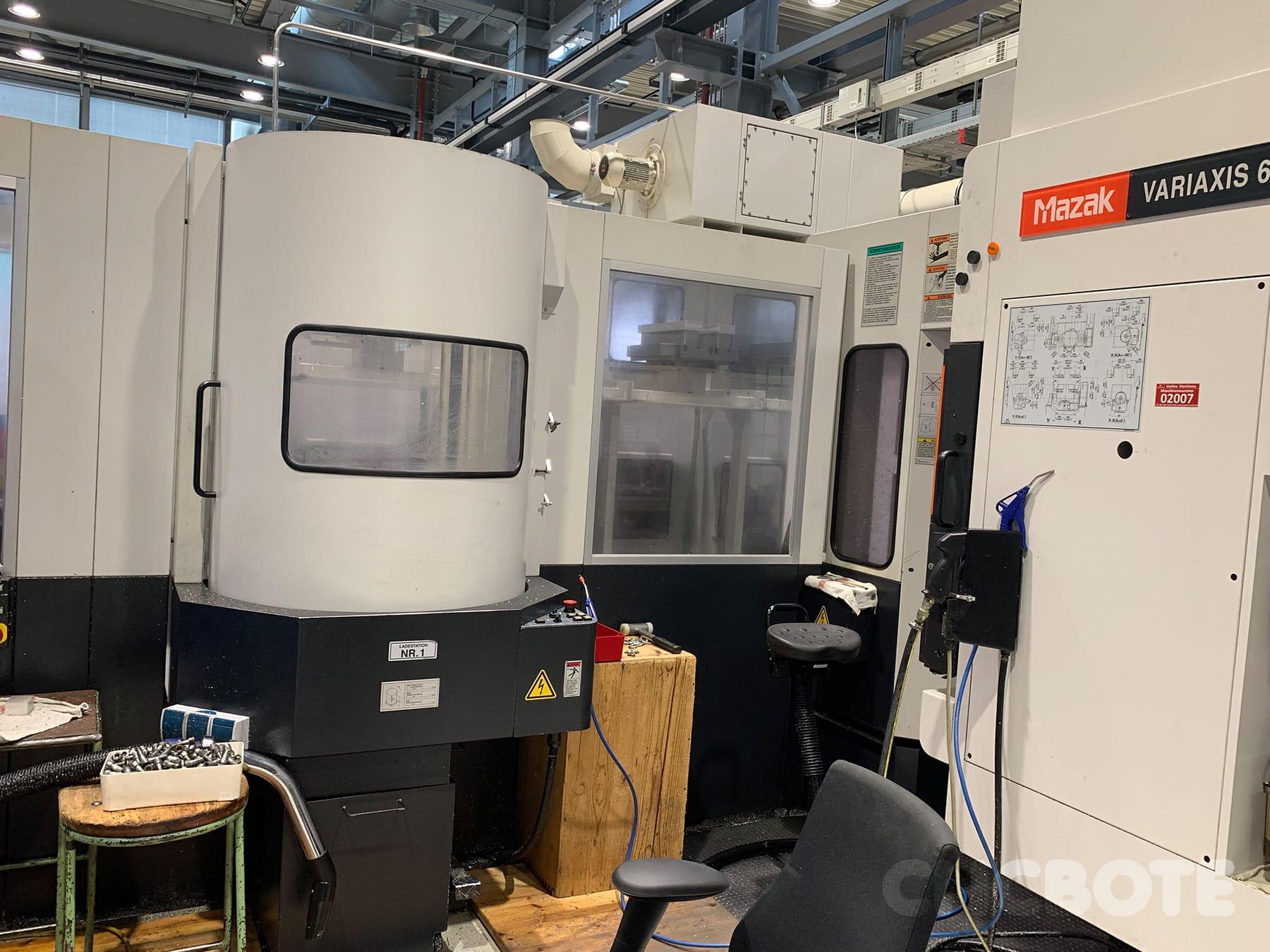 Mazak Variaxis 630-5X Bearbeitungszentrum