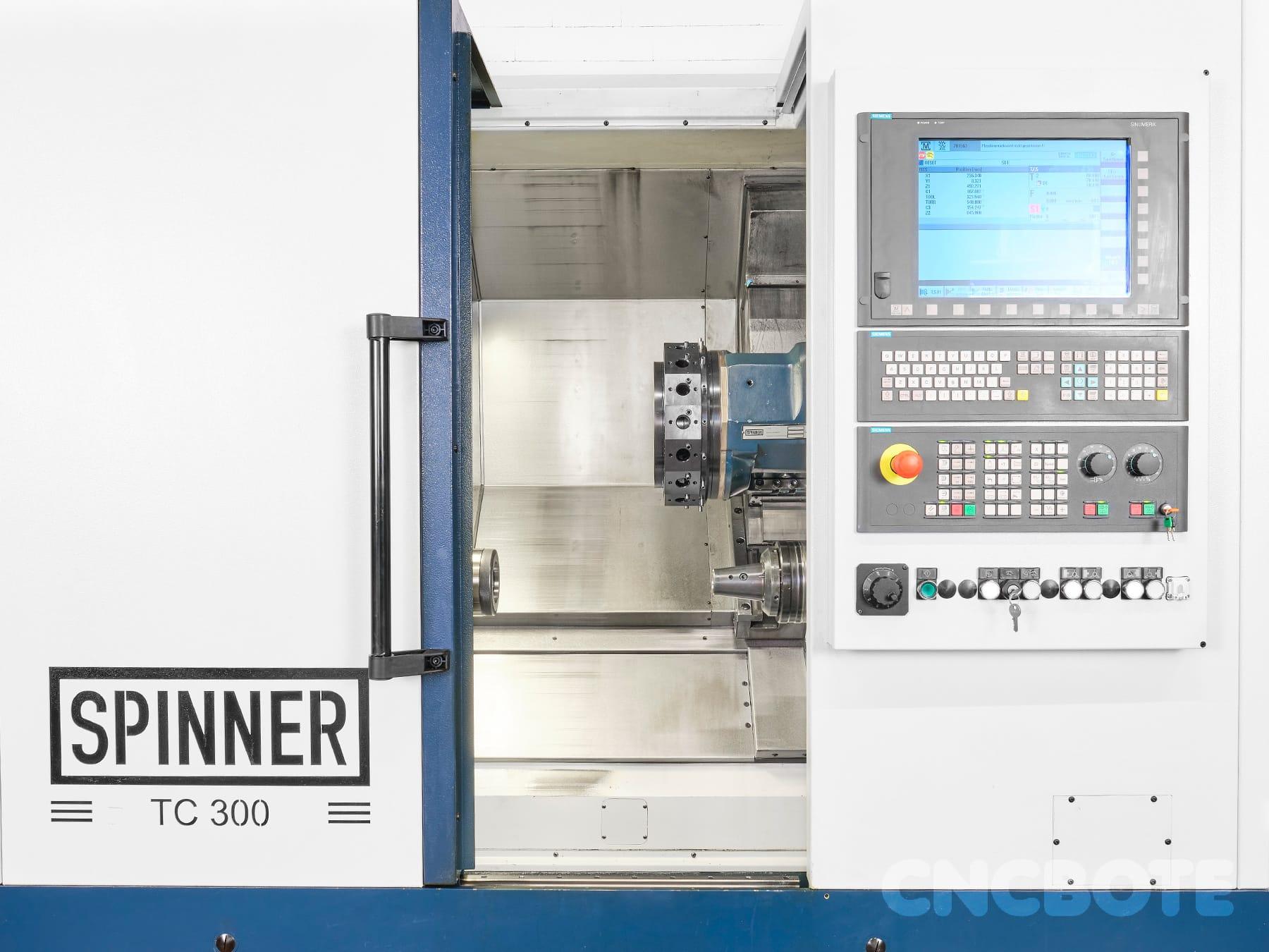 Spinner TC300-52 SMCY Drehmaschine