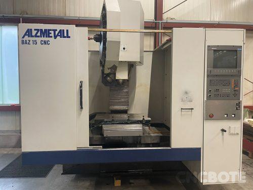 Alzmetall BAZ 15 CNC centro de maquinação